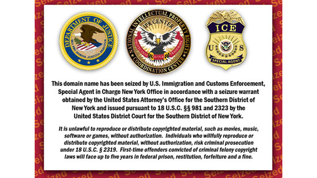 US Court: Cops Can Constitutionally Seize Your Web Domain