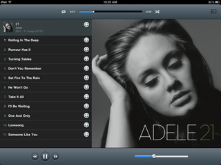 Rdio iPad App Gallery
