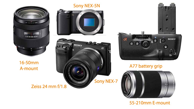 Sony's Fantastic-Looking Fall Camera Line-Up Leaks