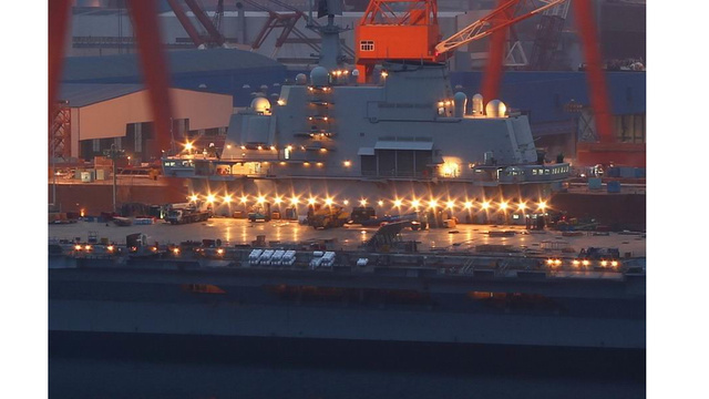 China's First Ever Aircraft Carrier: It's Aliiiiiiive!