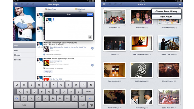 Facebook's iPad App Is Buried In Its iPhone App