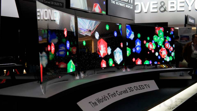 Click here to read LG's Curved OLED TVs Are Actually Going on Sale