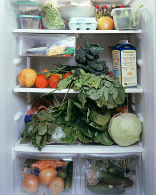A Look Inside People's Refrigerators