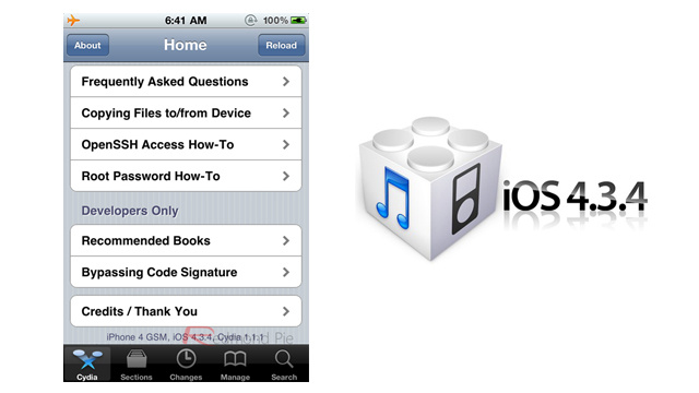iOS 4.3.4 Has Been Jailbroken