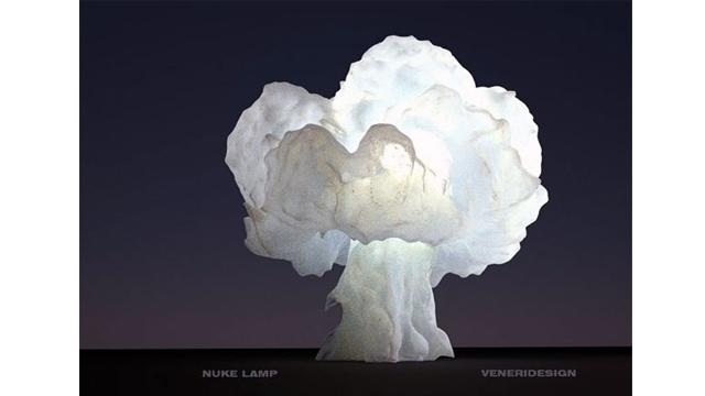 The Nuke Lamp Wants to Blow Up Your Desk