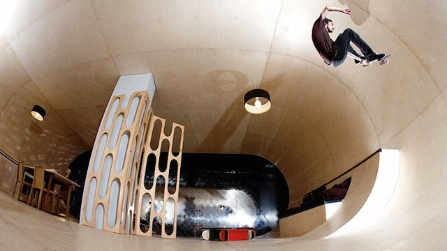 A House That's Made to Skate In