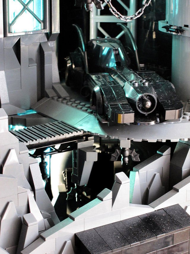 Holy Batman and His Bloody Amazing 9,000-Brick Lego Batcave!