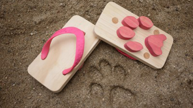I Wish These Wooden Sandals Came In Adult Sizes