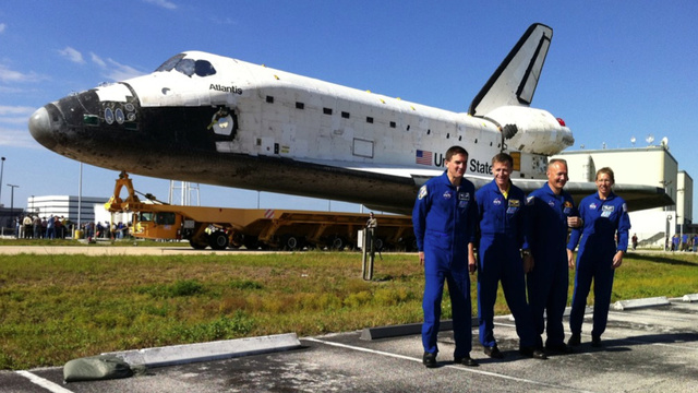 These Are the Last Four Humans Ever to Ride the Space Shuttle