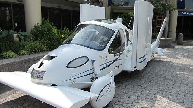 Terrafugia Transition Flying Car May Finally Take Flight
