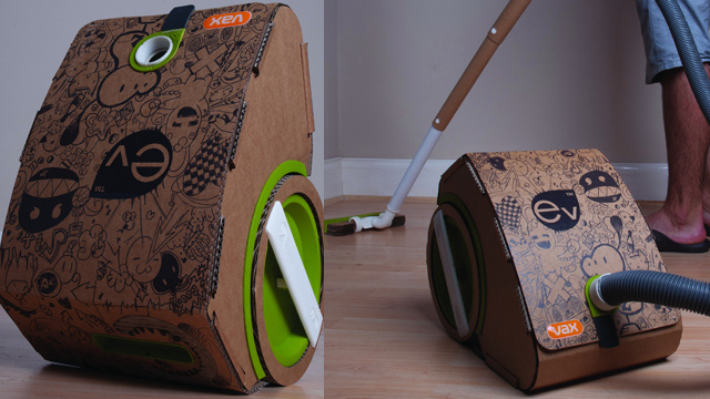 A Vacuum Cleaner Made From Cardboard Doesn't Sound Too Robust