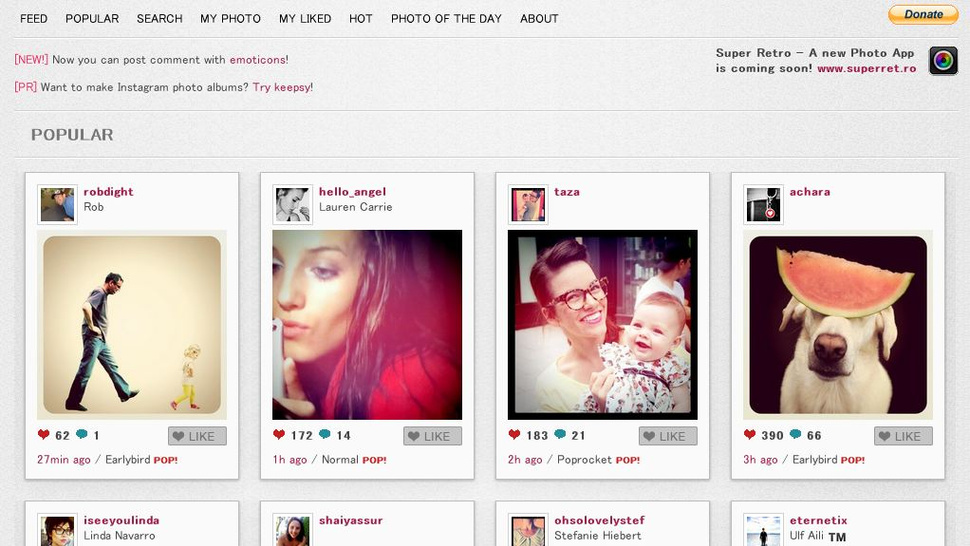Instagram Gets a Web Interface With Webstagram