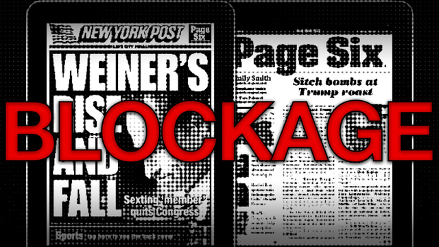 The New York Post Blocks Mobile Safari Vistors from Accessing Their Web Site