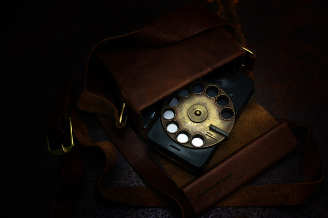 What a Blade Runner's Phone Would Look Like