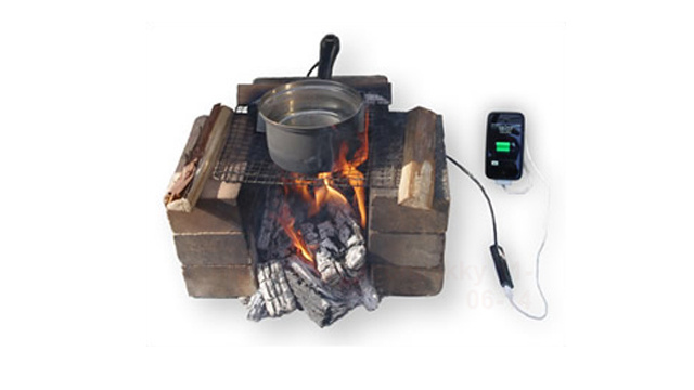 Harness a Cooking Pot's Energy and Charge Your Phone While Camping