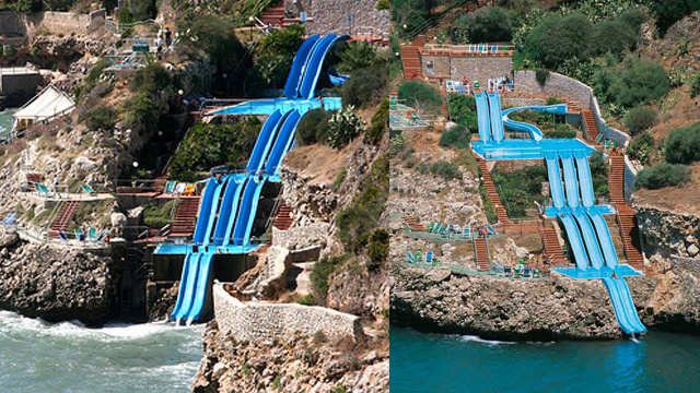 This Epic Water Slide Makes You Forget Your Face Is Melting Off
