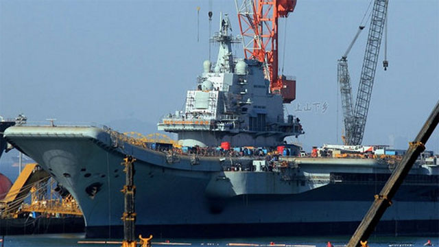 China Prepares Its First Aircraft Carrier