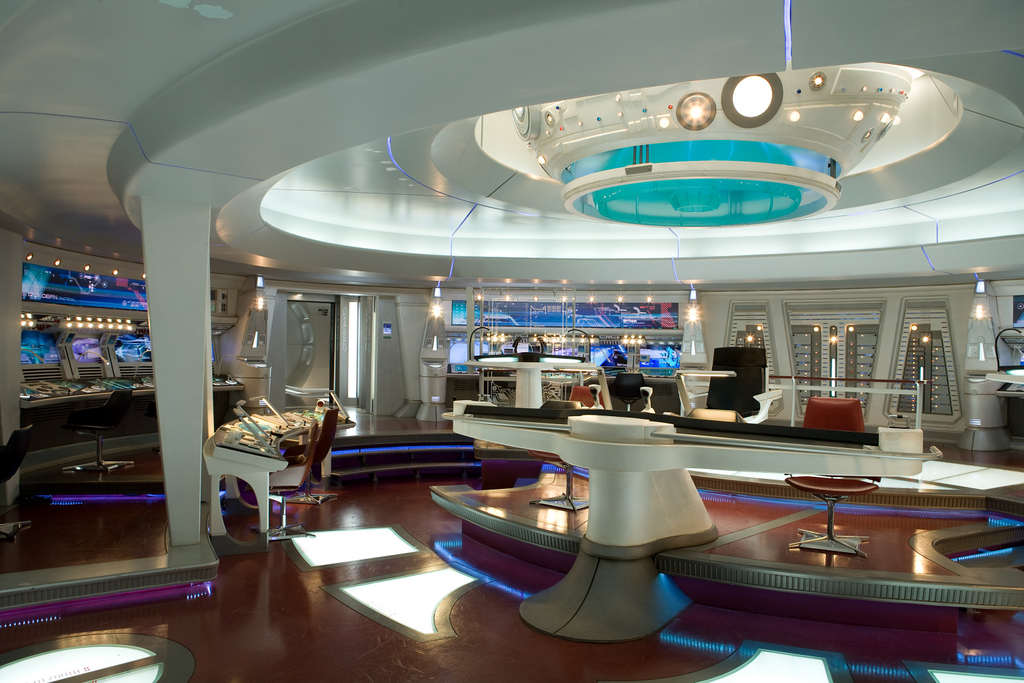 Tour The Bridge Of Enterprise From JJ Abrams Star Trek