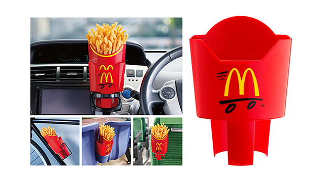Click here to read Dedicated McDonald's French Fry Holders Should Come Standard in Everything