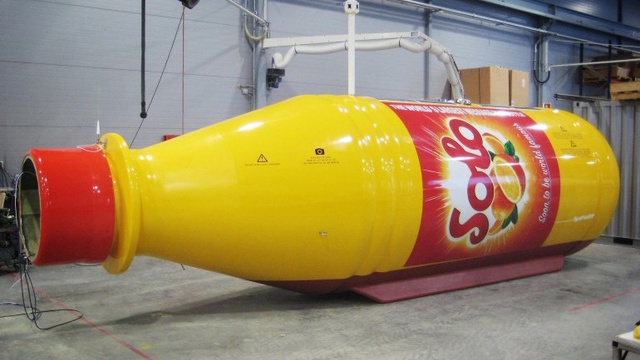 The World's Largest Message-in-a-Bottle Brings Tidings of Soda