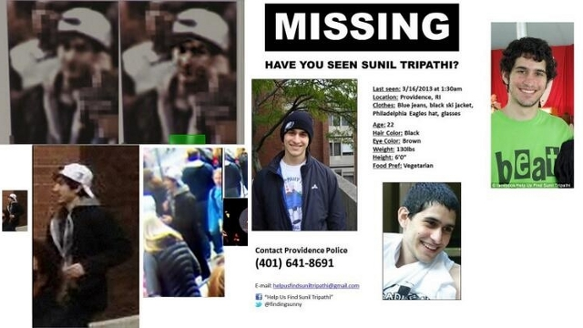 Reddit Wants to Help Find Missing Brown Student It ID'd as Bombing Suspect