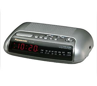 a modern digital alarm clock with retro flip stylings. Black Bedroom Furniture Sets. Home Design Ideas