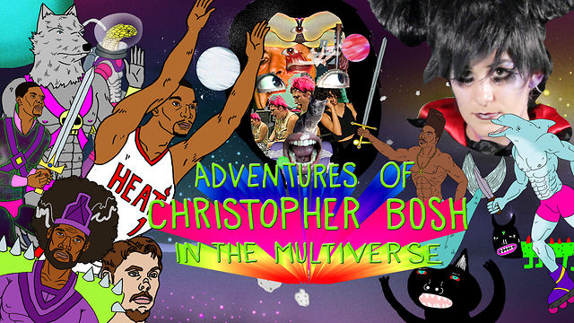 Click here to read The Weirdest Thing on the Internet Tonight: Adventures of Christopher Bosh in the Multiverse!