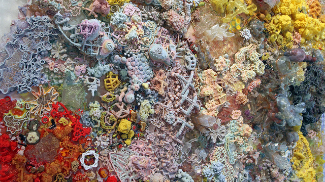 "Artist ""Nanofactures"" Paintings Using a 3D Printer and Molecular Modelling Software"