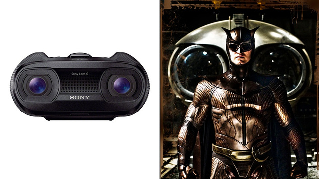 Superhero Tourists Will Love Sony's Awesome Combination Binoculars and 3D Camcorder
