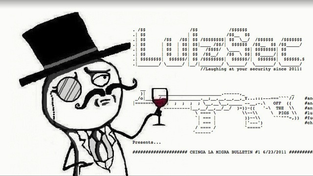 Click here to read 'Self-Proclaimed' Leader Of LulzSec Arrested