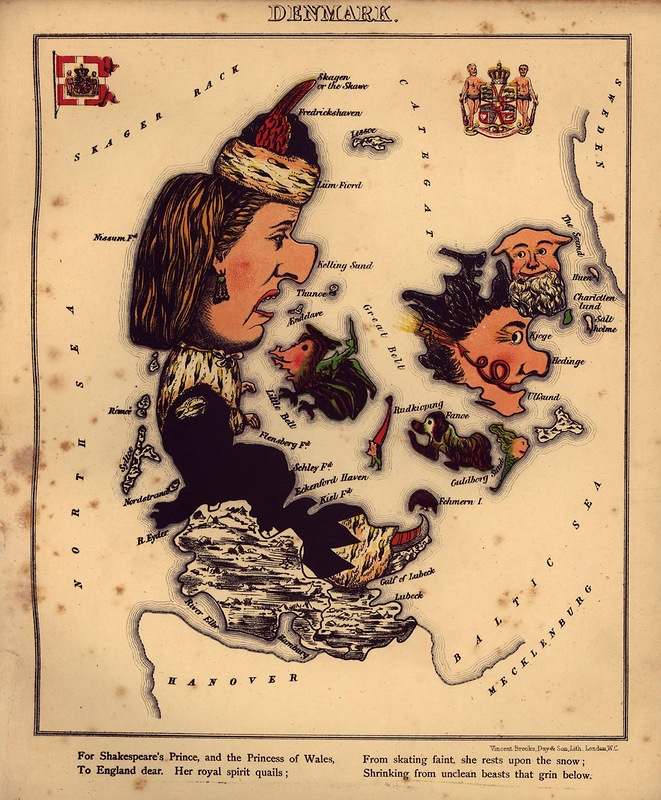 Maps as People? People as Maps? Anthropomorphized National Outlines