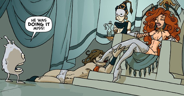 Eight sexy webcomics to read with the door locked