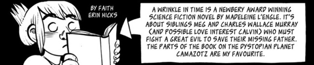 Exactly what happened in A Wrinkle in Time, explained in a one-page comic