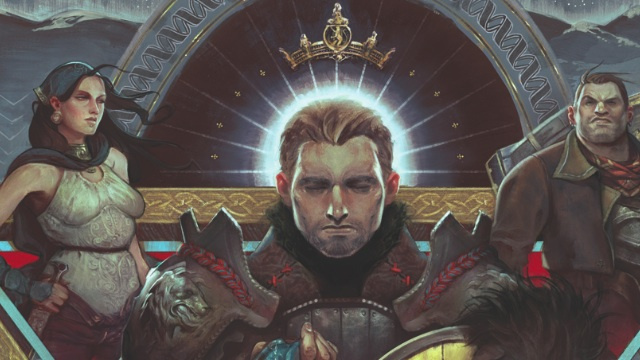An exclusive sneak peek at Dark Horse's upcoming Dragon Age comic