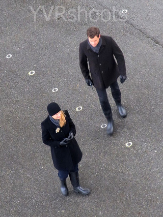Set photos for Fringe, Season 4