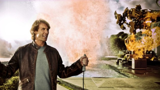 Transformers 4 is coming. Also, Michael Bay won't stop directing Transformers movies until the heat death of the universe.