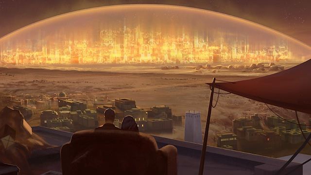 Concept Art Writing Prompt: Saturday Night at the Edge of the World
