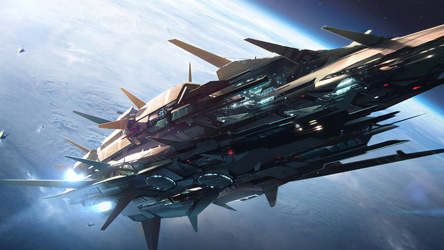 60+ Amazing Spaceship Concept Art Wallpapers