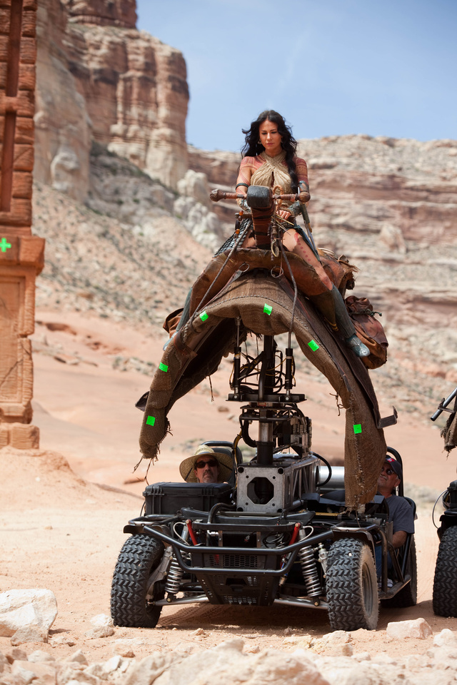 John Carter Set Photos