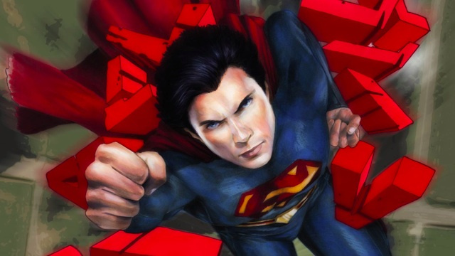 Smallville is back from the dead as a comic book, cue sad trombones