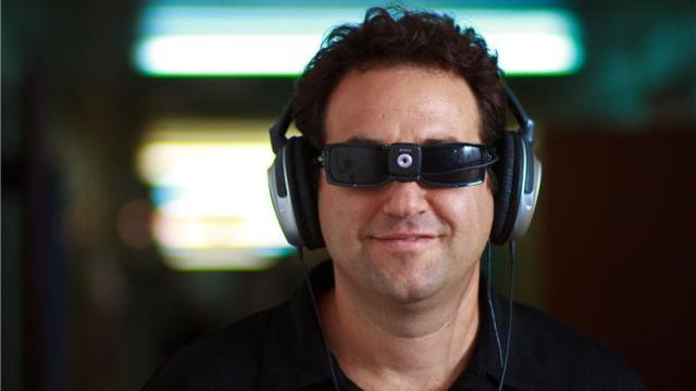 "New device hacks into blind people's visual cortex to let them ""see"""