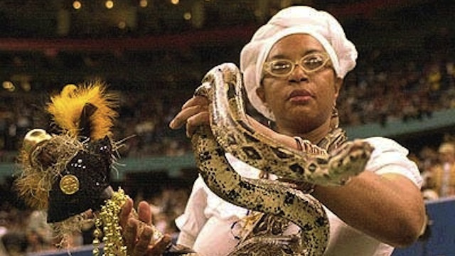 The New Orleans Saints hired a Voodoo priestess to fight a ghostly football curse