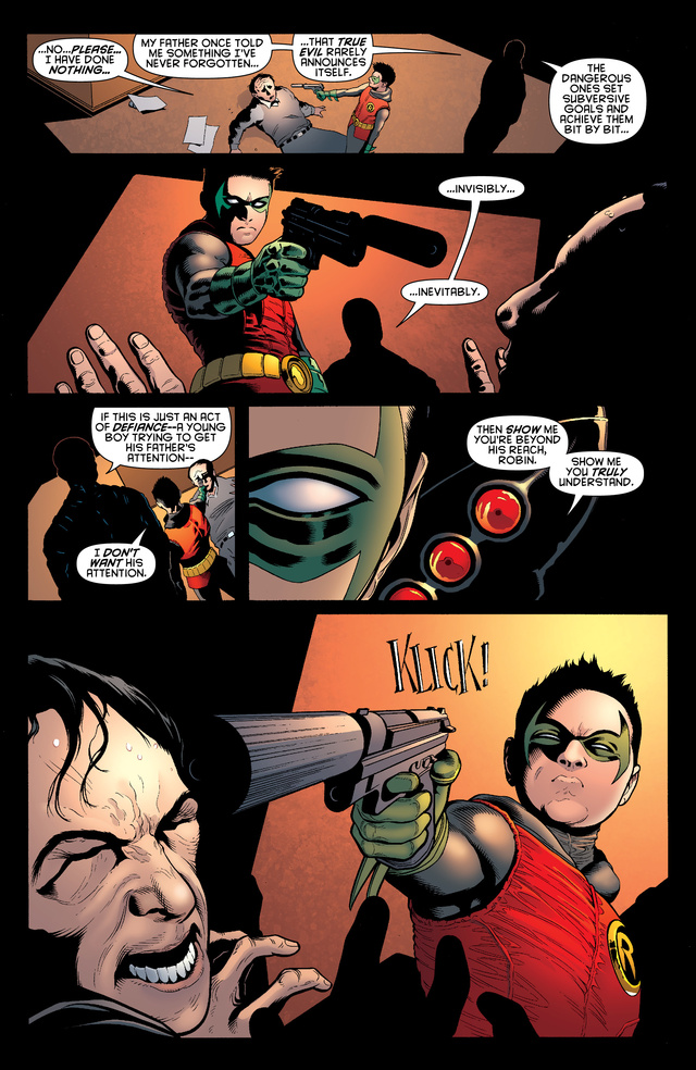 Read a preview of Batman and Robin, starring Bruce Wayne's ninja assassin son!