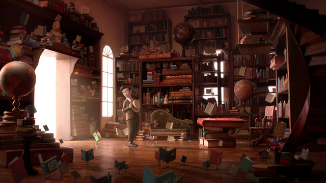 Moon chasers and flying books dominate our sneak peek at this year's Oscar nominated shorts