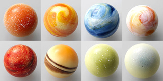 Now you can eat the solar system with these beautiful planet truffles