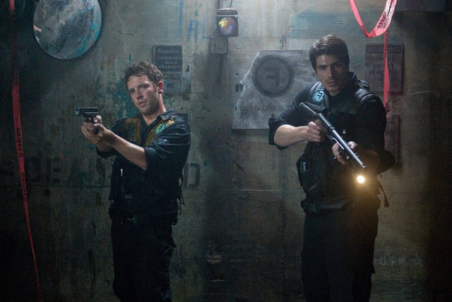 "Your first look at the ""monsters versus security guards"" flick Cost of Living"