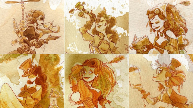 Hey Disney, this is the steampunk princess movie we want!