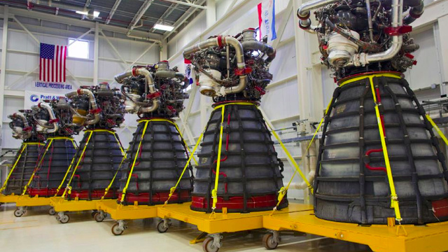 "Six Daleks are en route to NASA's Stennis Space Center disguised as ""space shuttle engines"""