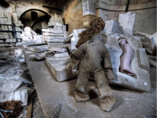 Creepy abandoned doll factory will haunt your nightmares
