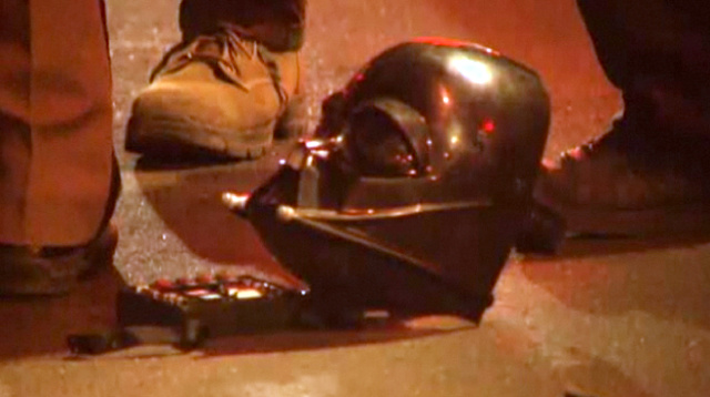 Darth Vader was tasered and pepper-sprayed in Florida